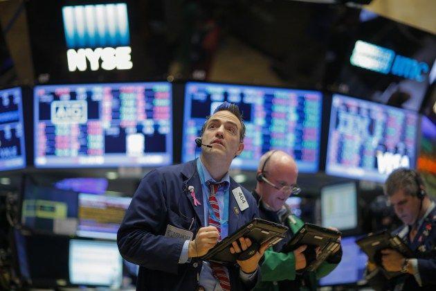 Lokálny obchodník na parkete burzy New York Stock Exchange