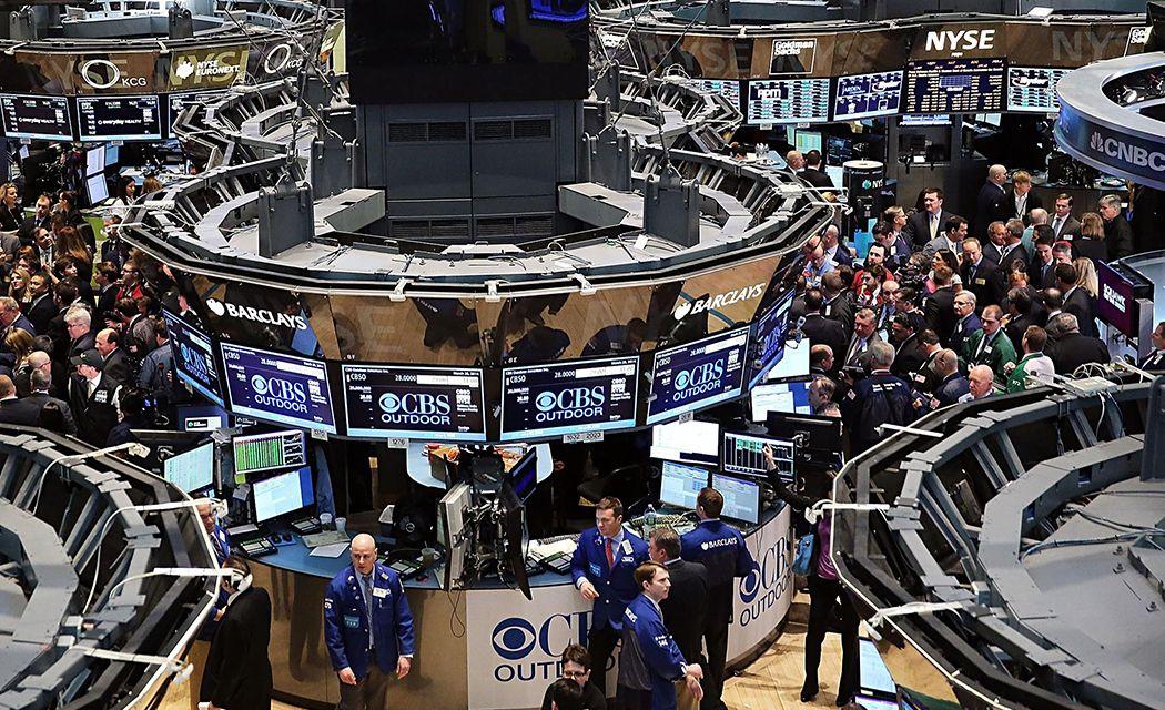 obchodovanie na burze - obchodný parket burzy New York Stock Exchange