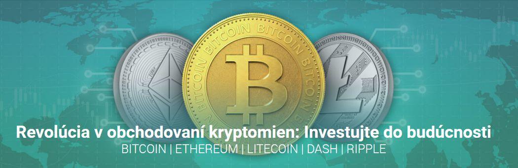 X-Trade Brokers obchodovanie kryptomien, bitcoin, ethereum, litecoin