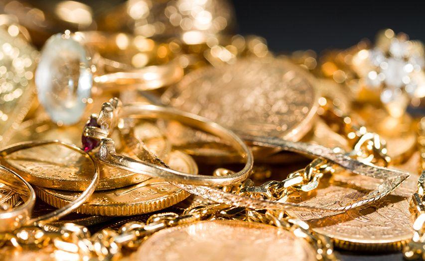 šperky a mince zlato cena
