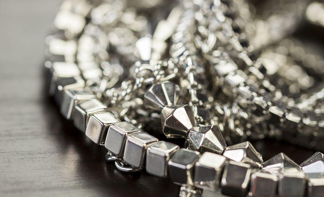 cena striebra šperky a náhrdelník