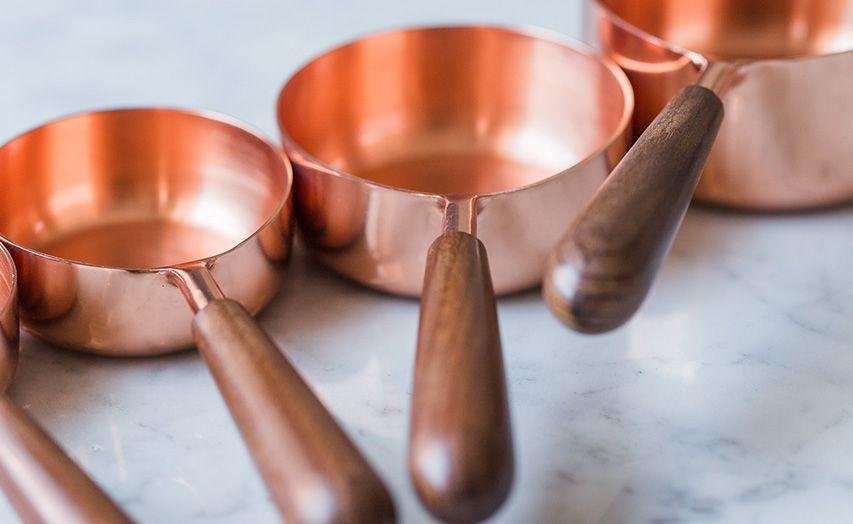 kurz medi a medené nádoby