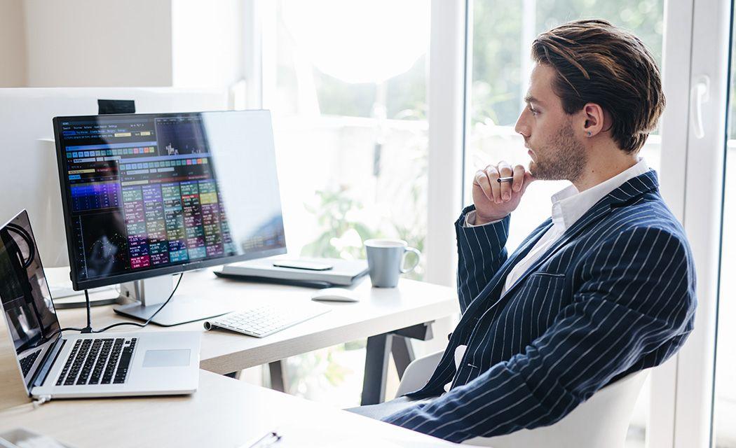 Forex CFD obchodovanie na počítači