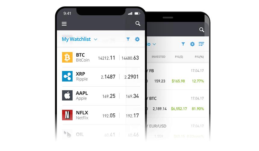 Skúsenosti s mobilnou obchodnou aplikáciou eToro