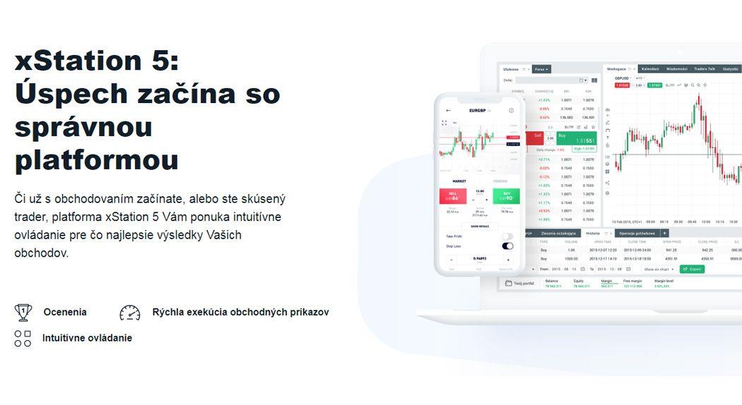 XTB recenzia obchodná platforma xStation 5