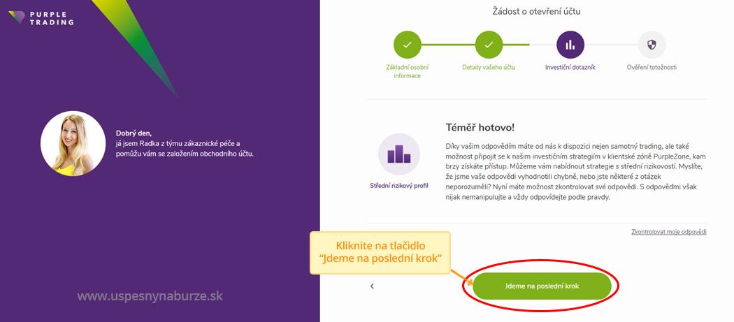 purple zone návod ako si založiť účet