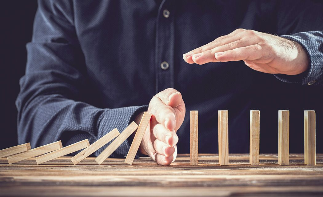Akcie investovanie domino efekt