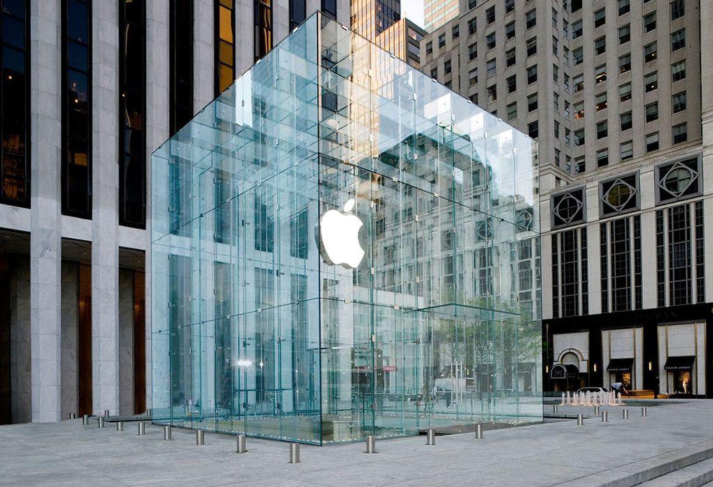 Predajňa spoločnosti v New Yorku