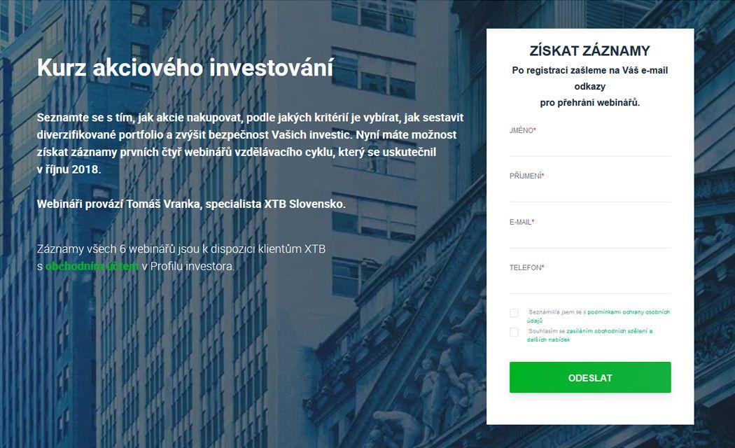 Online kurz ako investovať do akcií cez internet